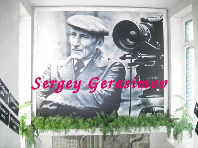 Sergey Gerasimov
