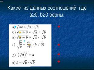 Блиц-опрос уравнение x2=a a0 нет корней х=0 х=√a х=-√a