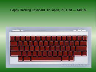 Happy Hacking Keyboard HP Japan, PFU Ltd — 4400 $