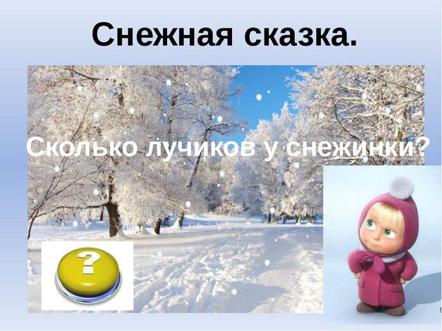 Снежный барс. Снежная сказка.