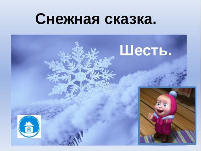 Снегоступы. Снежная сказка.