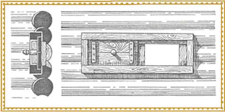Схема устройства волокового окна