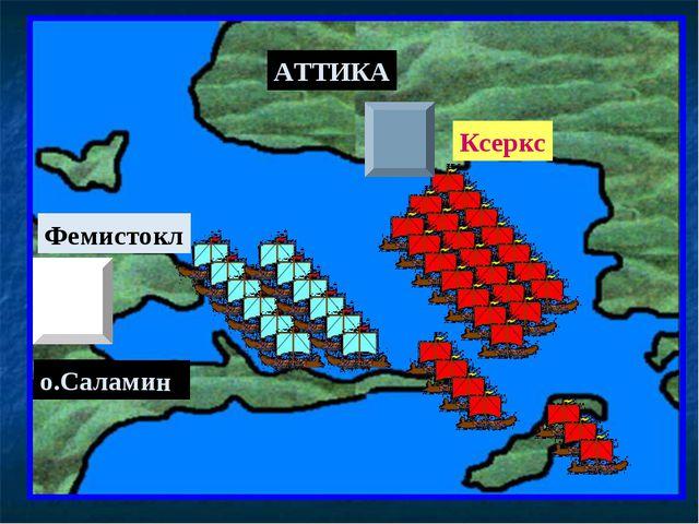 АТТИКА о.Саламин Фемистокл Ксеркс
