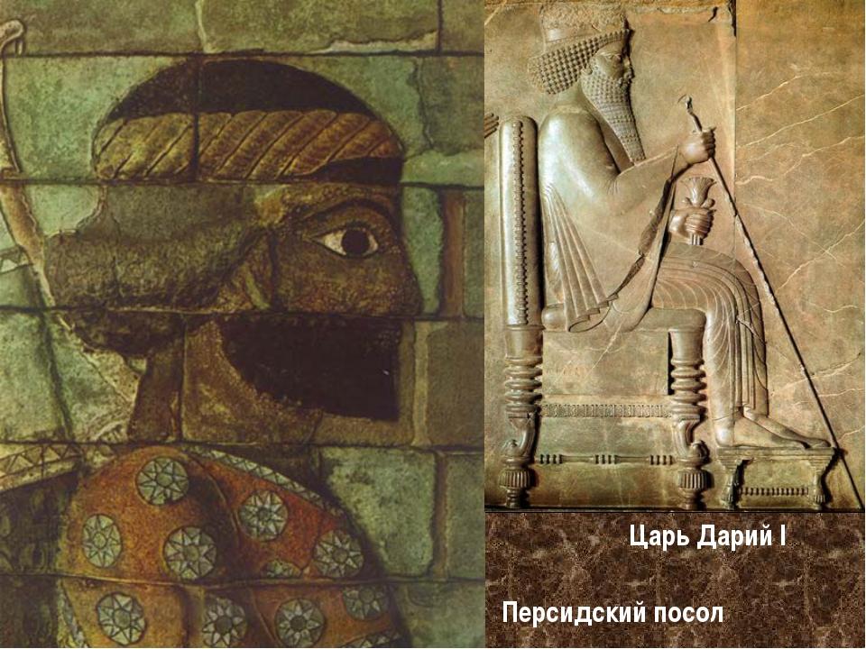 Персидский посол Царь Дарий I