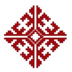 Орнамент на марийском национальном костюме - Родовое дерево (Еш пушеηге)