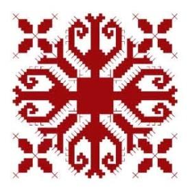 Орнамент на марийском национальном костюме - Сторож дома (Сурт орол)