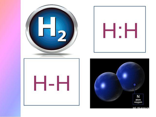 Сутек молекуласы Н-Н Н:Н
