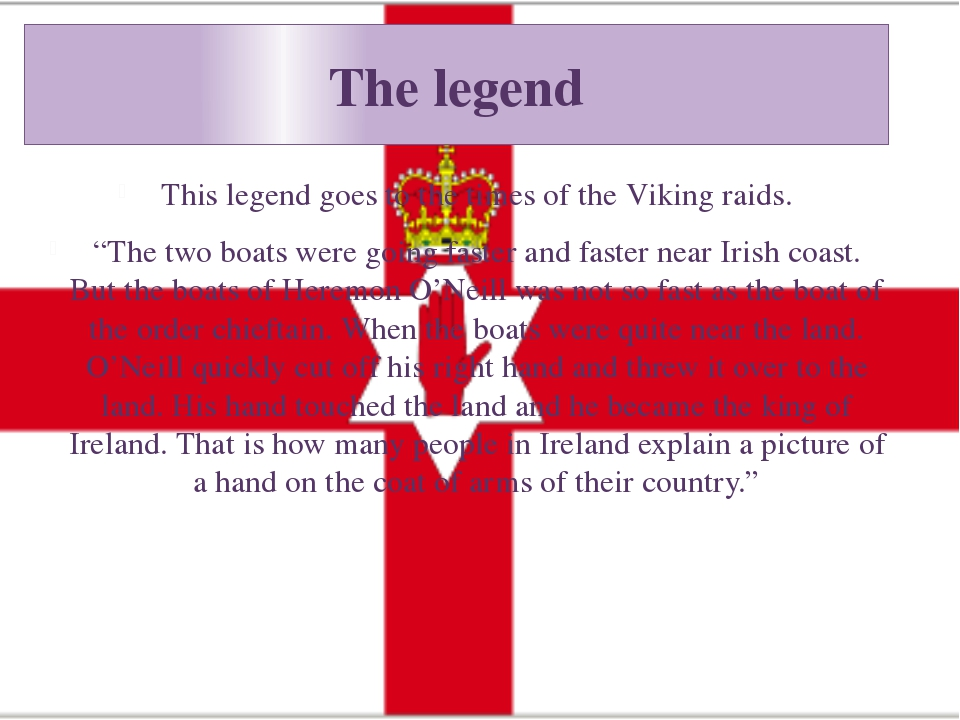 "The legend This legend goes to the times of the Viking raids. ""The two boats..."