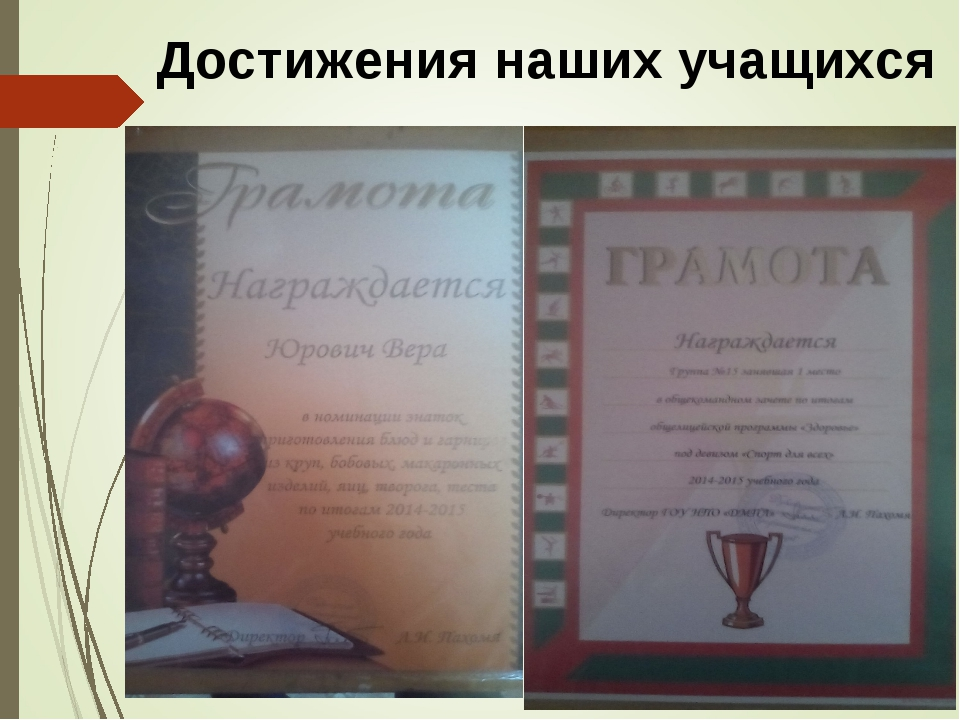 Достижения наших учащихся