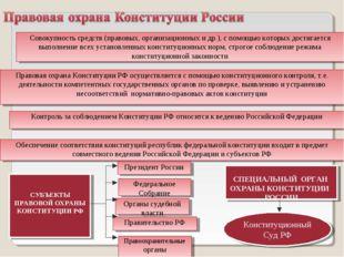 Совокупность средств (правовых, организационных и др.), с помощью которых дос