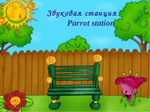 Звуковая станция Parrot station