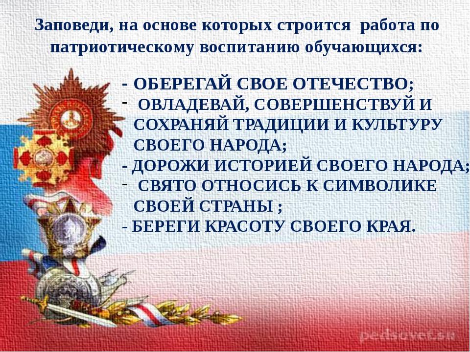 Поздравления с военно-патриотическим воспитанием