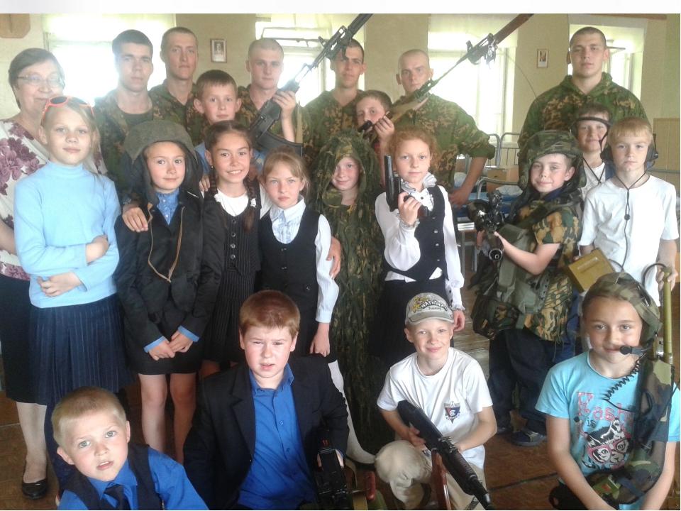 ; ; ; ; ; Экскурсия в БОР ( батальон охраны и разведки.) 2013г.