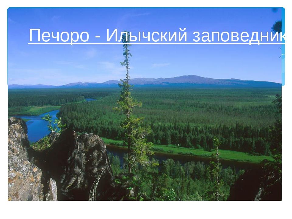 Печоро - Илычский заповедник