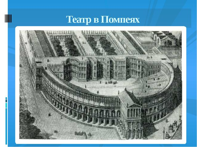 Театр в Помпеях
