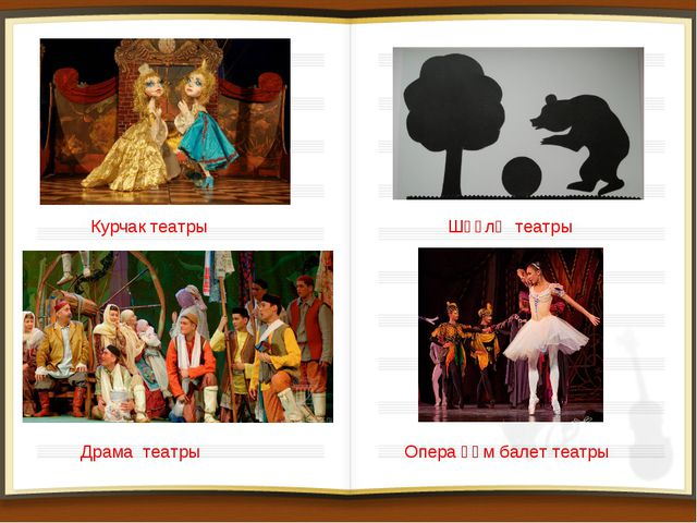 Курчак театры Драма театры Шәүлә театры Опера һәм балет театры